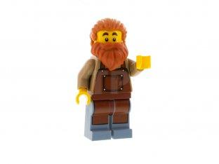 Main image for LEGO Blacksmith, Reddish Brown Apron