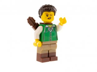 Main image for LEGO Huntress, Green Tunic