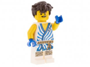 Main image for LEGO Jay - Legacy, White Tunic with Blue Trim and Stripes