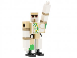 Main image for LEGO Iron Golem - Brick and Pin Arm Attachments, Black Feet