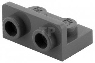50 NEW LEGO Bracket 1 x 2-1 x 2 Inverted BRICKS Dark Bluish Gray