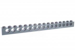 10 NEW LEGO Technic Brick 1 x 10 with Holes Light Bluish Gray