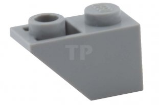 20 New LEGO Medium Stone Grey 2x1 Inverted Slope 3665 light gray 1x2 roof tile