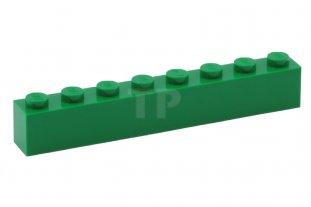 Lego 4 x Baustein Basic Stein 3008 grün  1x8