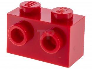 LEGO Lot of 2 Dark Red 2x3x2 Brick Cones