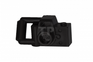 Lego Minifig Camera : Black minifig utensil camera handheld style type 1 4106552 part