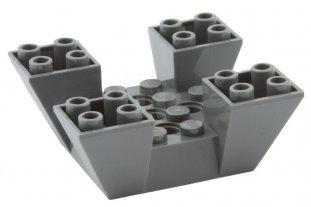 Lego 2x2 Slope Dark Bluish Gray Lot of 15