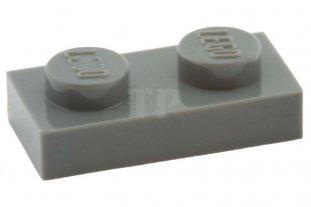 Dark Bluish Grey Gray NEW NEW 10 x Lego 3023 Plate Dark Grey Flat 1x2