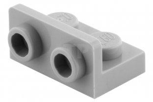 LEGO 10 Piastra Angolo inversione 1x2-2x2 GRIGIO CHIARO 99207 Light Bluish Gray CONVERTITORE