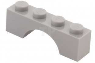 Lego 5 New White Brick Arch 1 x 4 Dot Pieces
