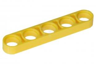 Lego Technic Yellow Liftarm 1x7 6 pieces NEW!!!