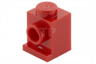 LEGO® Reddish Brown Brick 1 x 1 with Headlight Design ID 4070