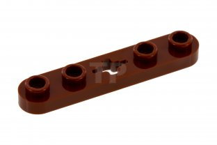 New LEGO Lot of 4 Reddish Brown Technic  Mindstorms Axle Connector Pieces