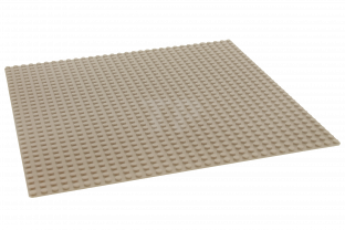 Lego Bauplatte Beige 32x32 4558611 Sand Baseplate Tan