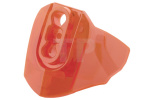 Trans-Neon Orange Hero Factory Armor with Ball Joint Socket - Size 3
