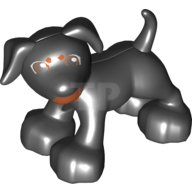 main image for Duplo Dog Large Paws with Open Mouth and Spots between Eyes Pattern