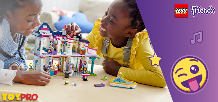 Time to go on new adventures with your LEGO® Friends